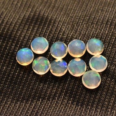 5mm opal faceted round