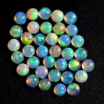 4mm opal smooth round