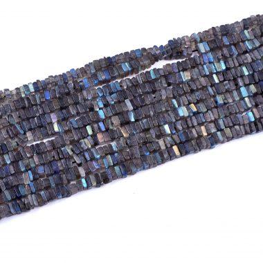 labradorite smooth square beads