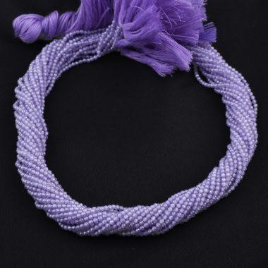 lavender cubic zirconia beads