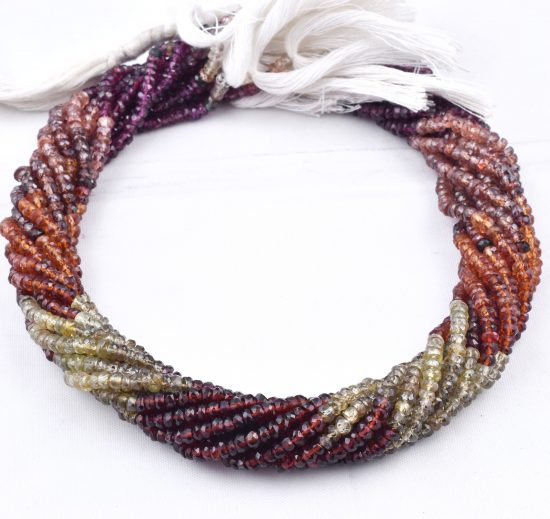 tonro sapphire faceted beads