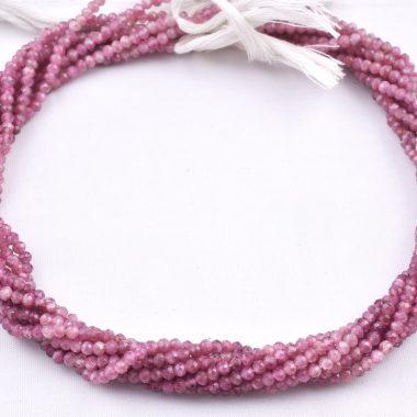tiny tourmaline rondelle beads