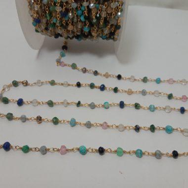 disco mix gemstone rosary