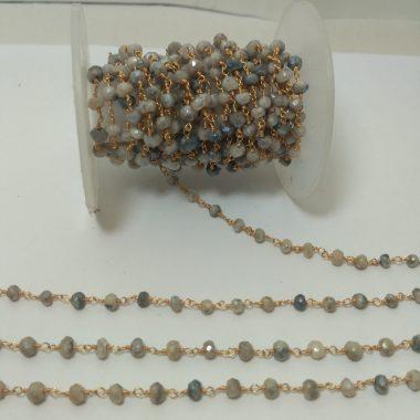 chrysoprase rosary chain