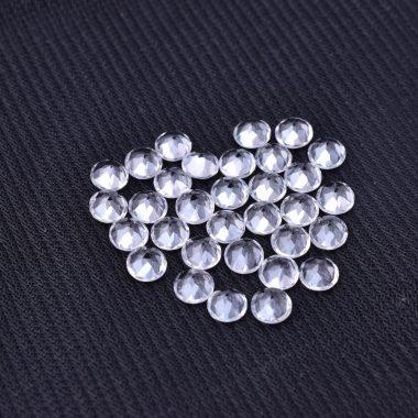 4mm crystal quartz round cut