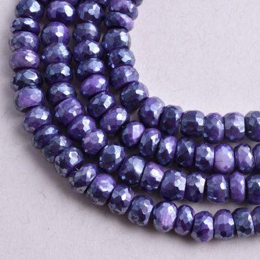 blue moonstone silverite beads