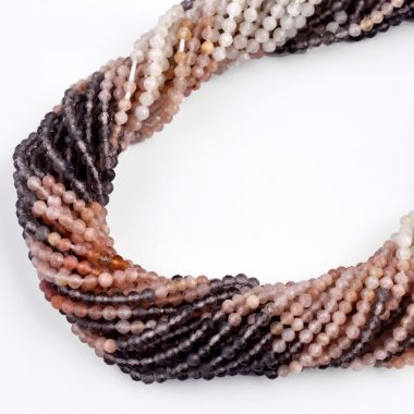 micro multi moonstone beads