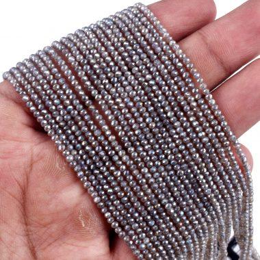 micro mystic labradorite beads