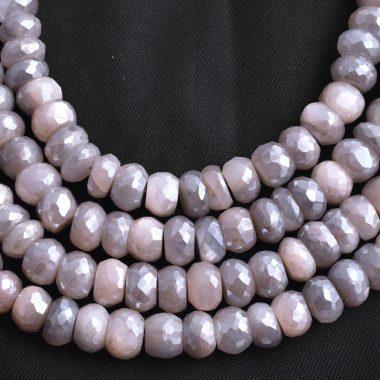 chocolate grey moonstone silverite