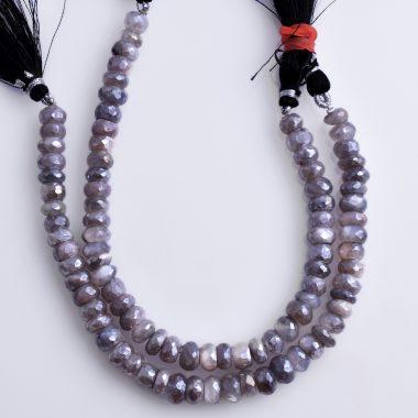 gray moonstone coated silverite