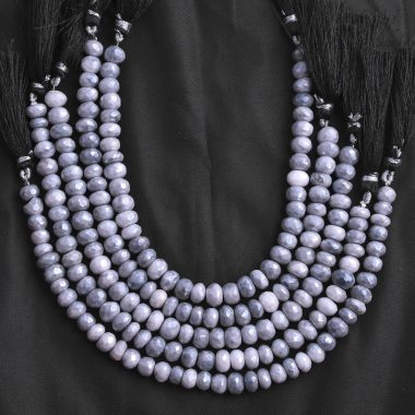 grey moonstone silverite beads