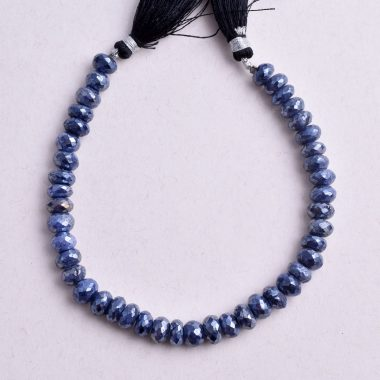 blue moonstone faceted silverite