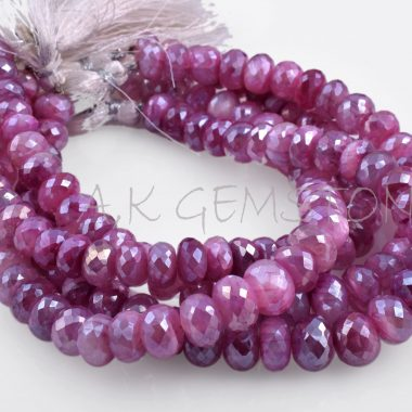 red ruby moonstone silverite