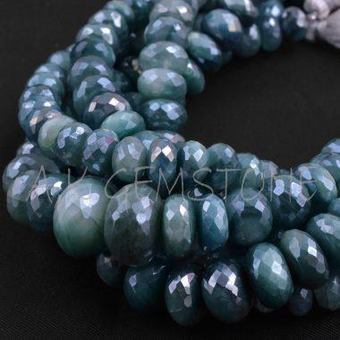 emerald green moonstone silverite