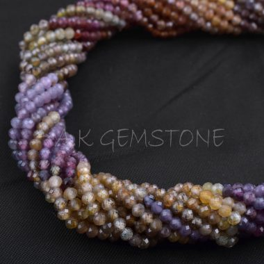 multi spinel tundra beads