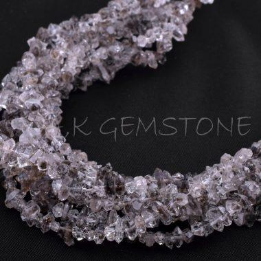 herkimer diamond gemstone beads