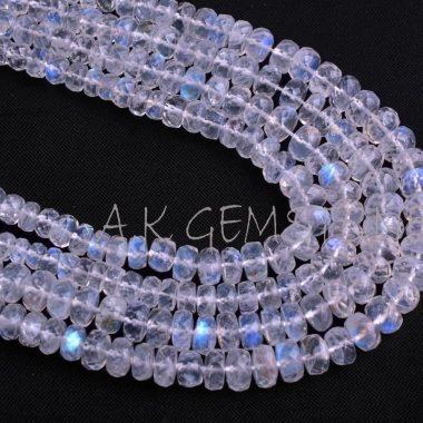 rainbow moonstone gemstone beads