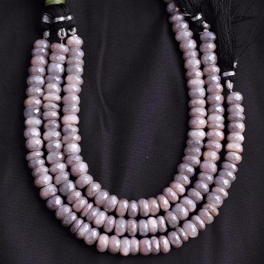peach gray moonstone silverite