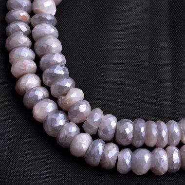 gray chocolate moonstone silverite