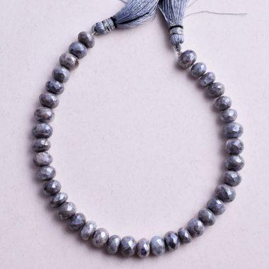 silver gray moonstone silverite