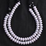 moonstone silverite beads