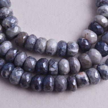 gray double quartz moonstone