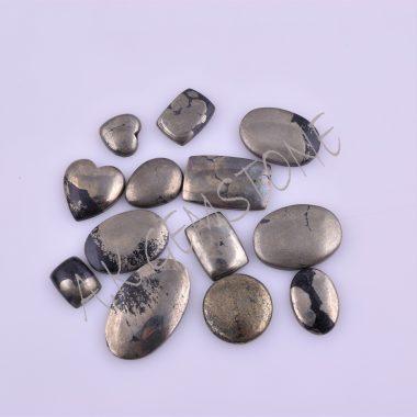 free size pyrite cabochon