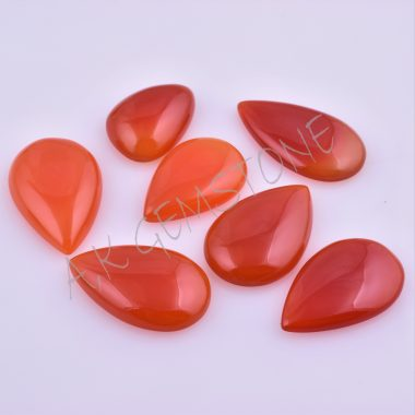 free size red onyx cabochon