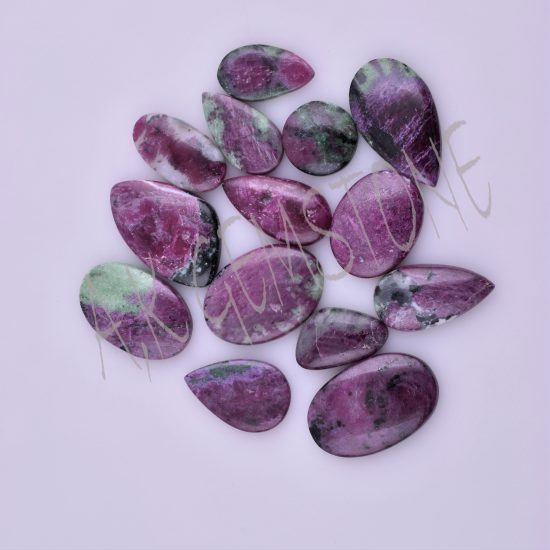 free size ruby zoisite cabochon