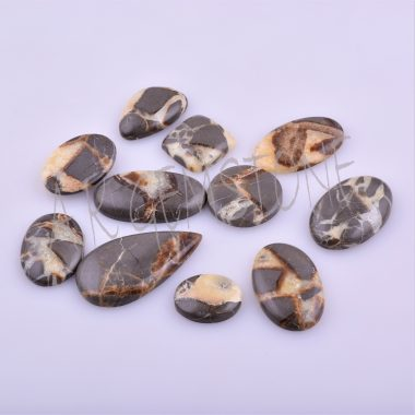free size brown septarian cabochon