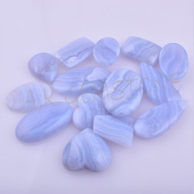 free size Blue Lace cabochon