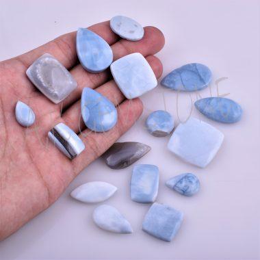 free size blue opal cabochon