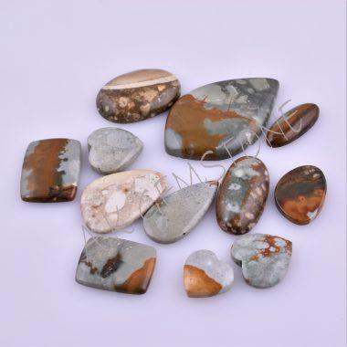 free size rocky beauty jasper cabochon