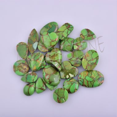 free size green copper turquoise cabochon