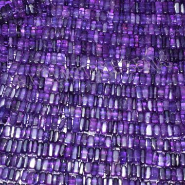 african amethyst square beads