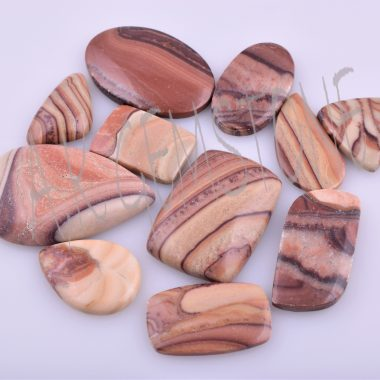 wave dolomite smooth cabochon
