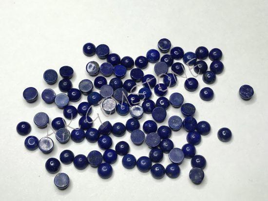 4mm round lapis lazuli