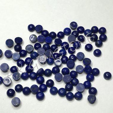 5mm round lapis lazuli